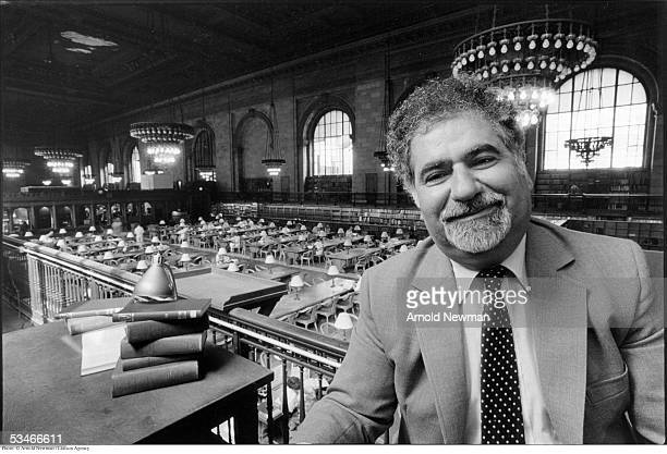 Portrait of Vartan Gregorian former head of the New York Public Library July 28 1983 in New York City