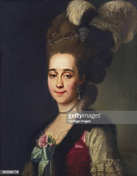 Portrait of Varvara Vasilyevna Golitsyna née von Engelhardt Private Collection