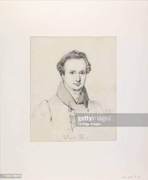 Portrait of Victor Hugo , 1830. Found in the Collection of Musée de la Vie romantique, Paris. Artist Ziegler, Jules Claude .