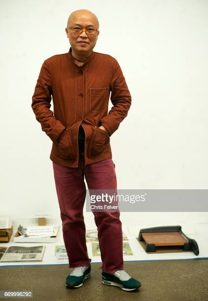 Portrait of Vietnameseborn American artist curator and author Phong Bui New York New York March 3 2017