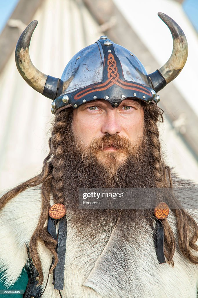 Portrait of Viking : Stock Photo