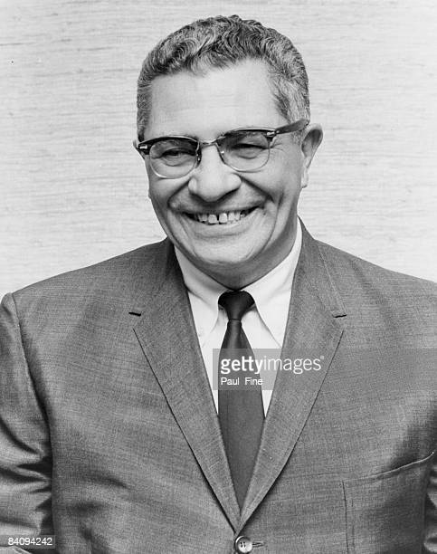 Portrait of Vince Lombardi the new head coach and general manager of the Washington Redskins taken on February 20 1969