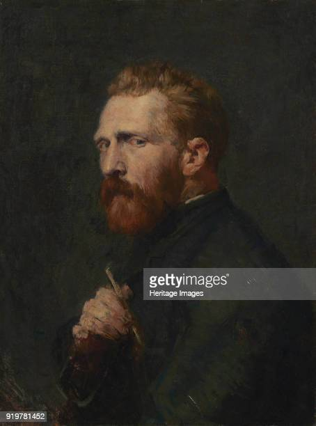 Portrait of Vincent van Gogh 1886 Found in the collection of Van Gogh Museum Amsterdam