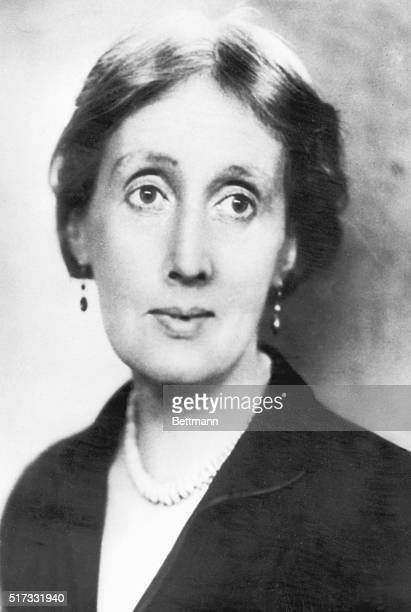 Portrait of Virginia Woolf English novelist Undated photograph