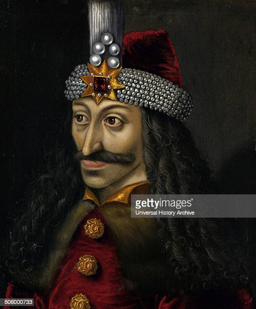 Portrait of Vlad III c 1560 reputedly a copy of an original made during his lifetime