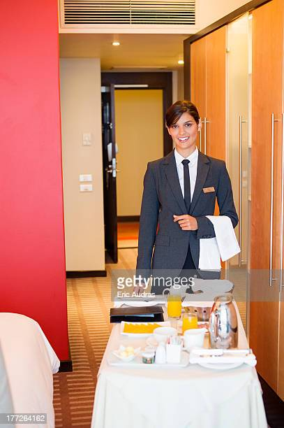 Room Service Stock Photos and Pictures | Getty Images