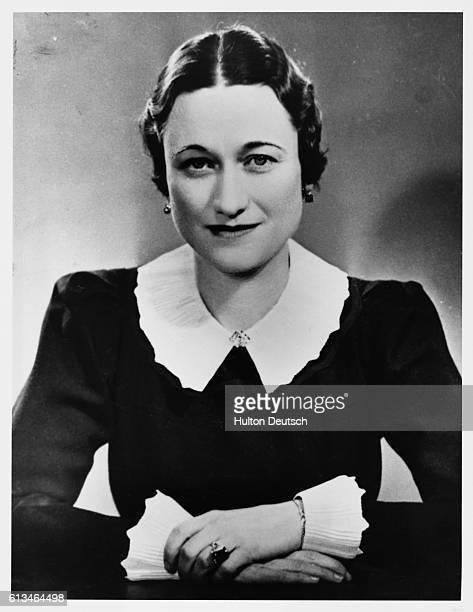 Portrait of Wallis Simpson, 1936.