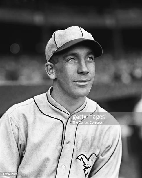 A portrait of Walter E French of the Philadelphia Athletics in 1927
