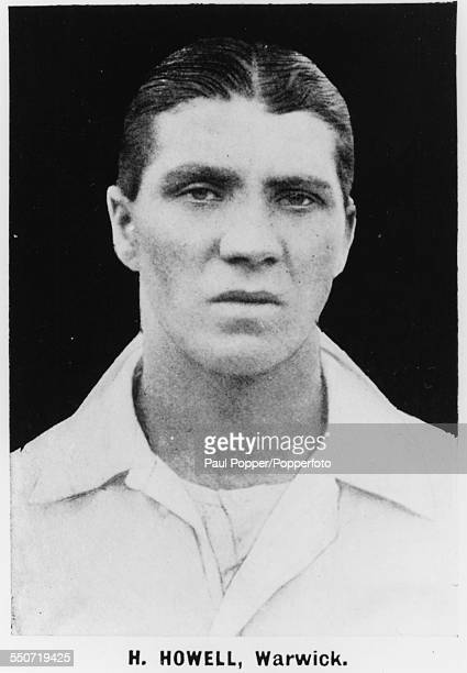 Portrait of Warwickshire cricket player and footballer Harry Howell circa 1920