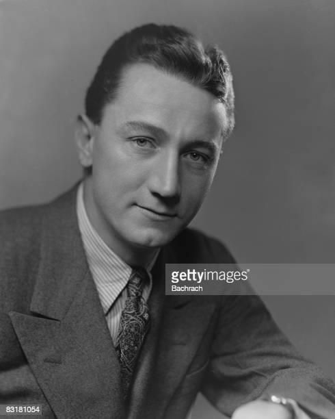 Portrait of Washington Post columnist Stewart Alsop Washington DC 1947