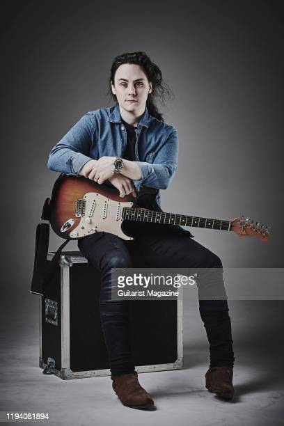 Portrait of Welsh musician Chris Buck photographed in Bath England on March 29 2019 Buck is best known as a guitarist with blues rock duo Buck Evans