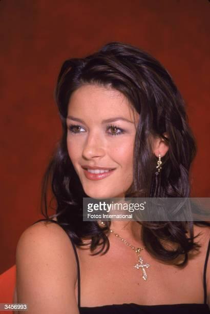 Portrait of Welshborn actress Catherine ZetaJones June 15 1998