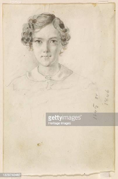 Portrait of Whistler, 1845 or 1846. Artist James Abbott McNeill Whistler.
