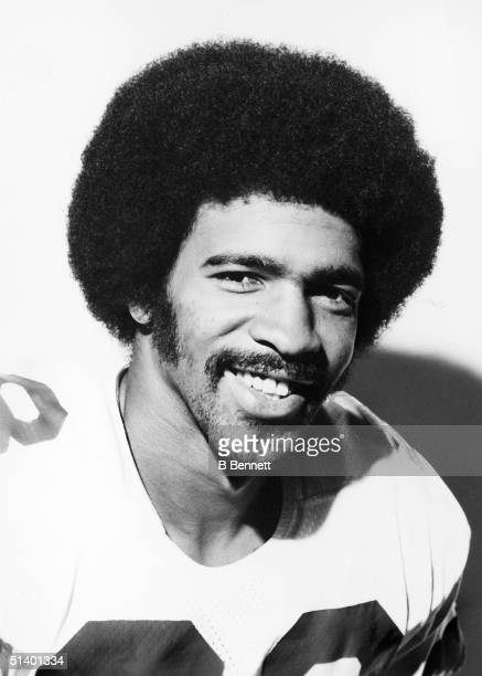 Portrait of wide receiver Drew Pearson of the Dallas Cowboys Drew Pearson played for the Dallas Cowboys from 19731983