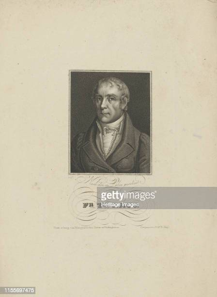 Portrait of Wilhelm Traugott Krug , 1828-1829. Private Collection. Artist Falcke, Tobias .