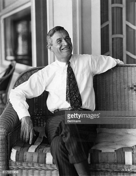Portrait of Will Rogers American actor and humorist Undated photograph