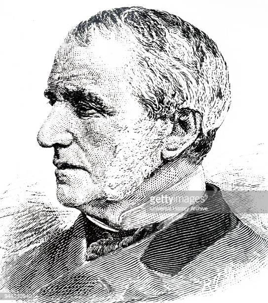 Portrait of Willard Parker an American surgeon professor at the New York College of Physicians and Surgeons Dated 19th century