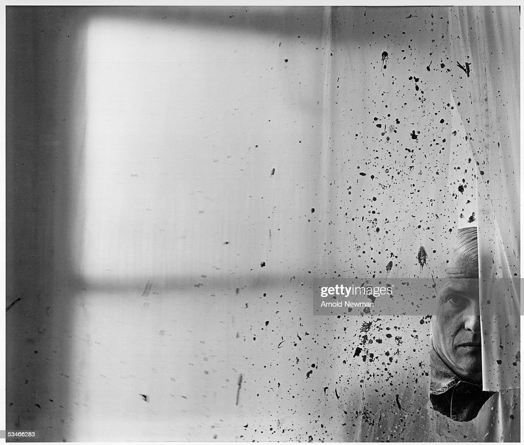 Portrait of Willem De Kooning, Abstract Expressionist painter, May 25, 1959 in New York City.