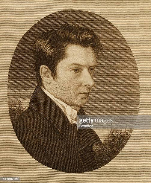 A portrait of William Hazlitt English essayist and drama critic best known for his writings on Shakespeare
