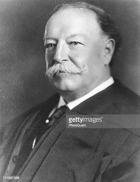 Portrait of William Howard Taft who served as the 27th president of the United States of America early twentieth century