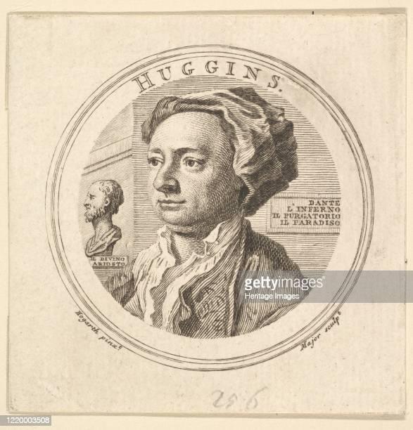Portrait of William Huggins translator of Ariosto 1760 Artist Thomas Major