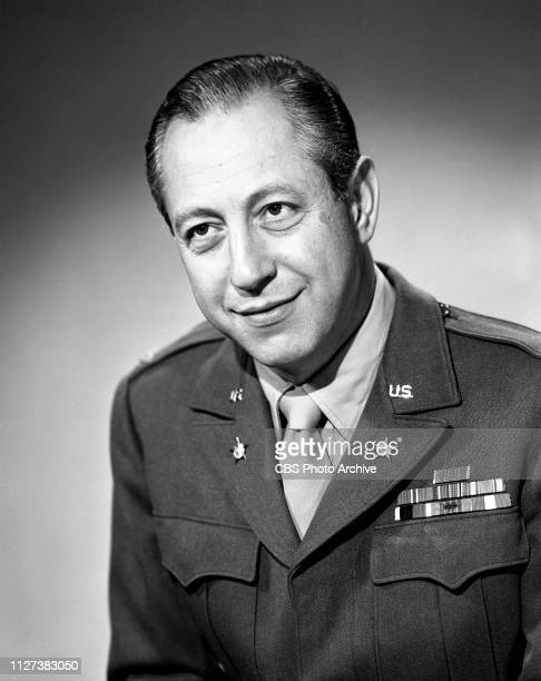 Portrait of William S Paley founder and chairman of CBS In World War II Paley serves as Deputy Chief of the Psychological Warfare Division New York...