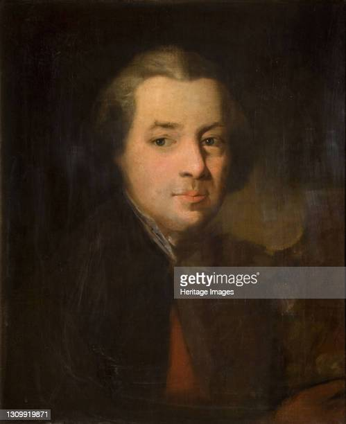 Portrait of William Shenstone , 1765. Artist Edward Alcock. .