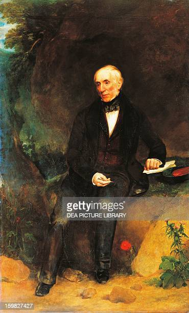 Portrait of William Wordsworth English poet Oil on canvas by Henry William Pickersgill ca 1850 2172 X133 4 cm London National Portrait Gallery