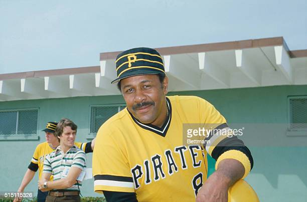 Portrait of Willie Stargell first baseman for the Pittsburgh Pirates