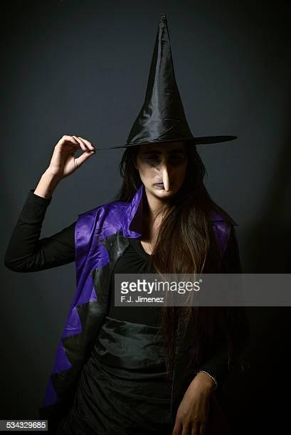 Portrait of witch