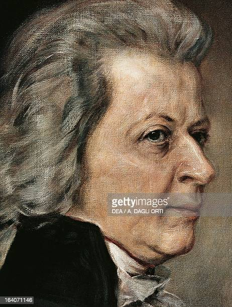 Portrait of Wolfgang Amadeus Mozart Vienna Historisches Museum Der Stadt Wien