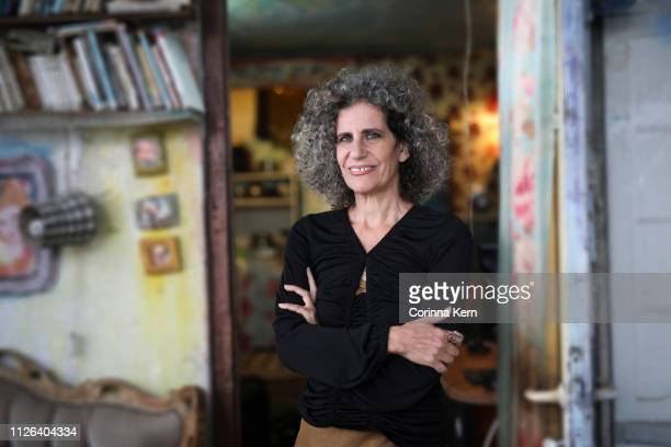 portrait of woman at home - israeli woman stock pictures, royalty-free photos & images