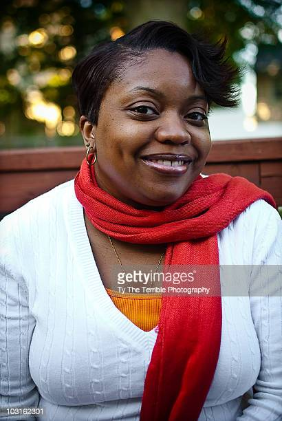 portrait of woman - images of fat black women stock photos and pictures