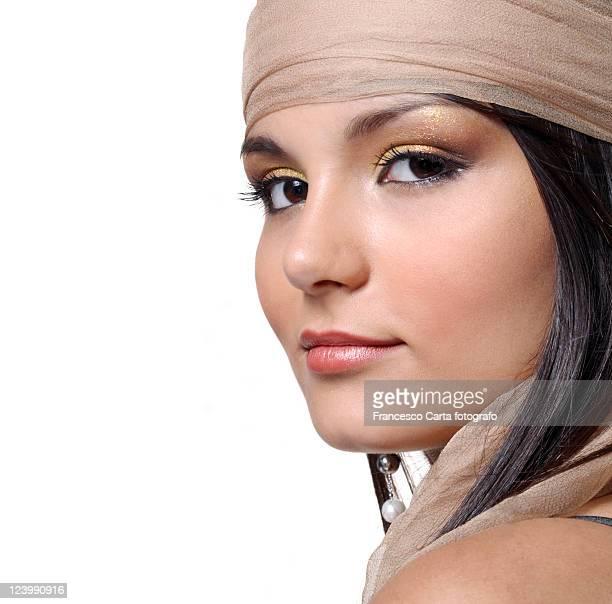 portrait of woman - tempio pausania stock-fotos und bilder