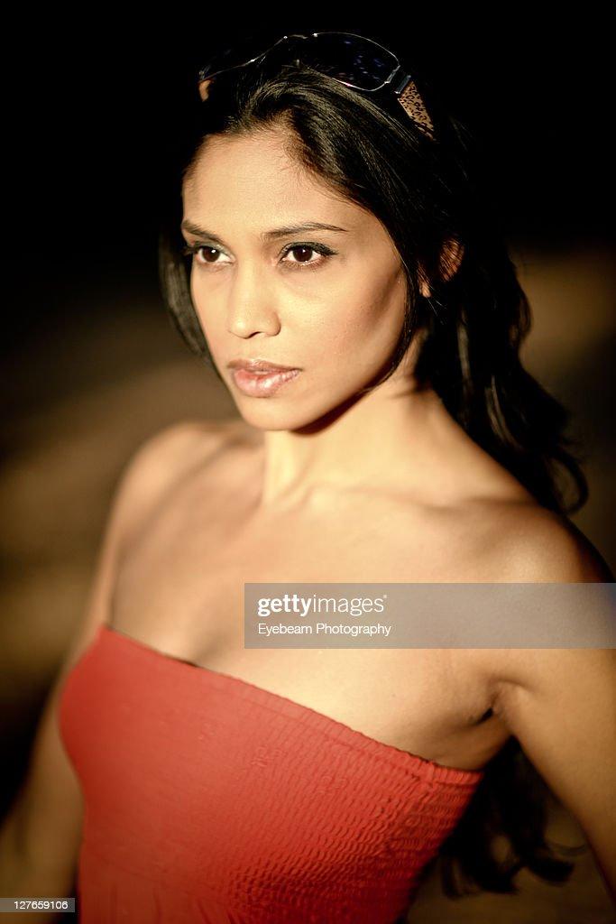 LOURDES: Busty indian lady