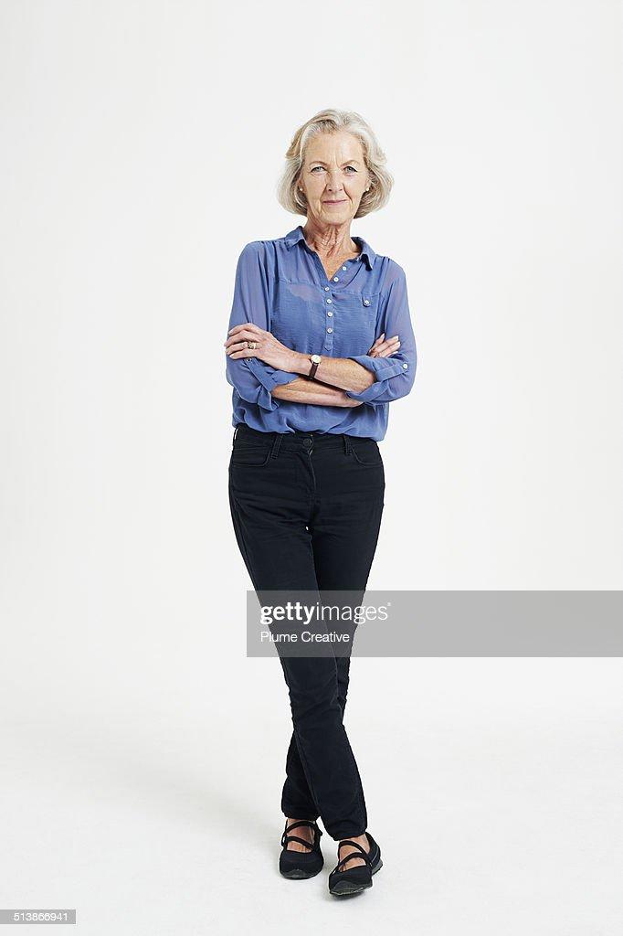 Portrait of woman : Stock-Foto