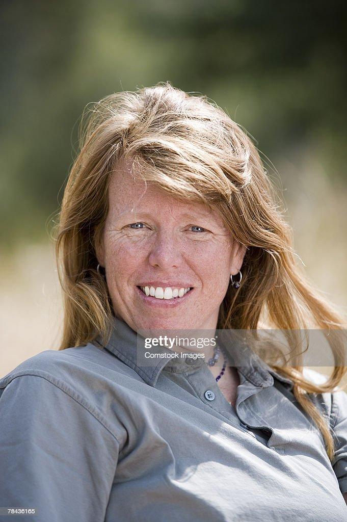 Portrait of woman : Stockfoto