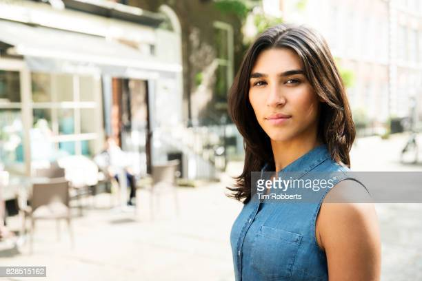 portrait of woman - one young woman only stock pictures, royalty-free photos & images