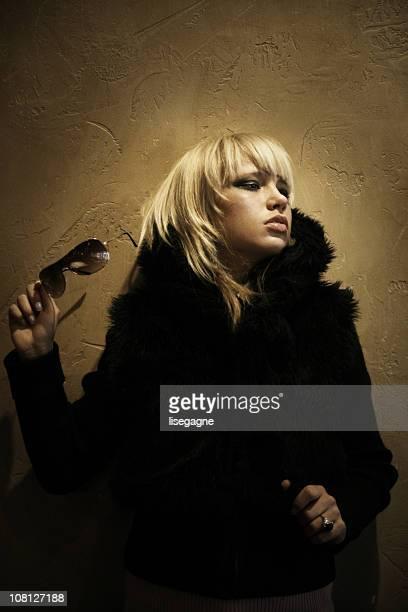 Portrait of Woman Posing