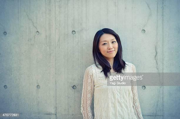 Portrait of woman smiling,japan,Tokyo