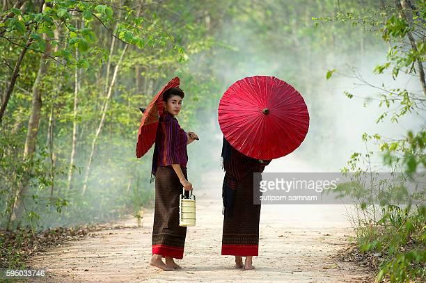 portrait of women - pretty vietnamese women stock pictures, royalty-free photos & images