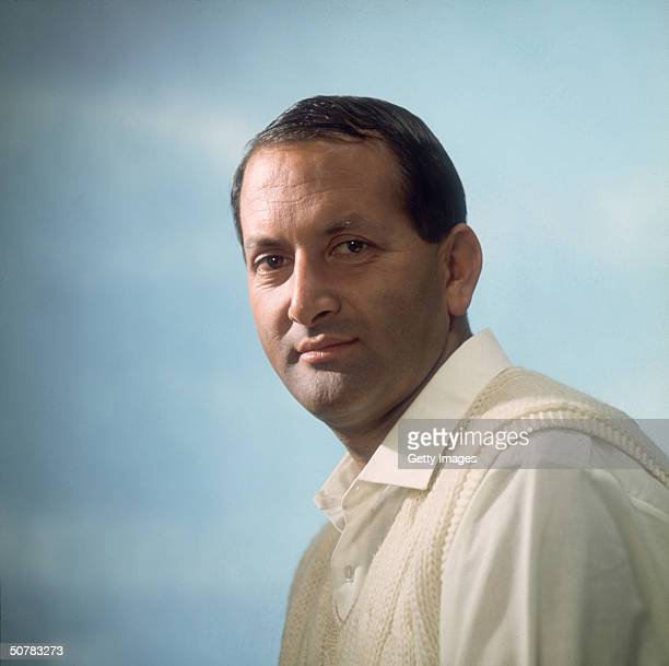 A portrait of Worcestershire and England cricketer Basil D'Oliveira taken in 1969