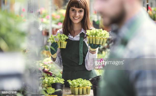 Portrait of Worker at The Garden Center