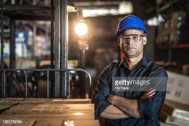 portrait of worker - occupation stock pictures, royalty-free photos & images