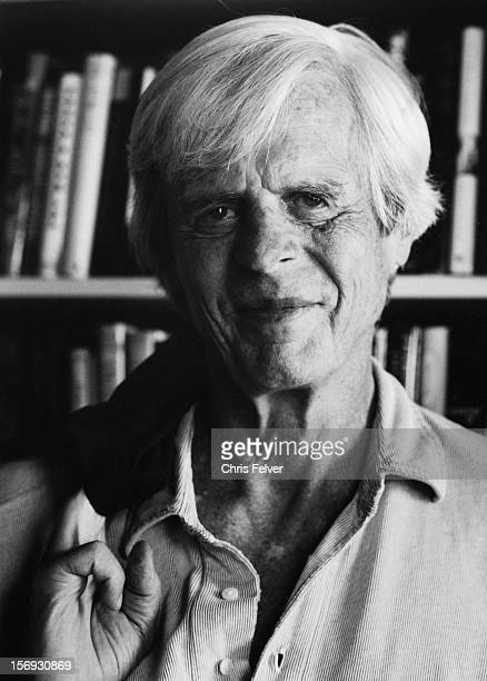 Portrait of writer and editor of The Paris Review George Plimpton, New York, New York, 1999.
