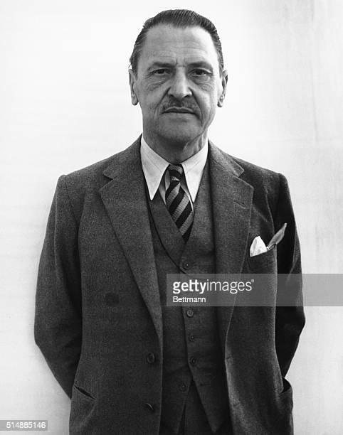 Portrait of writer and playwright Somerset Maugham