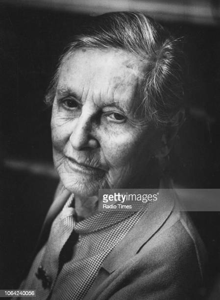 Portrait of writer Baroness Mary Stocks September 22nd 1970