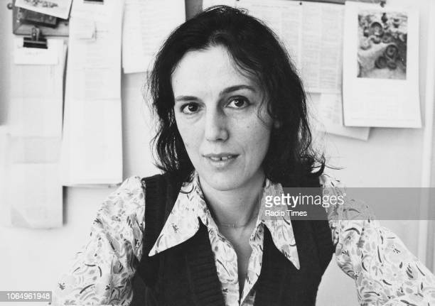 Portrait of writer Claire Tomalin February 11th 1975