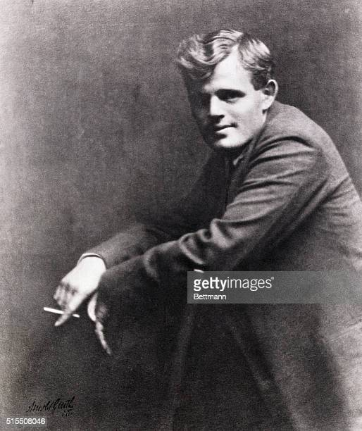Portrait of writer Jack London