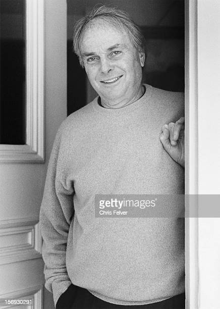 Portrait of writer Michael Murphy, San Rafael, California, 1999.